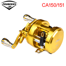 CA150 12BB Fishing Reel proberos Alloy Body Casting Reel Aluminum+Stainless Steel 5.9:1 Spinning Reel CA150/151