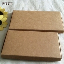 50pcs-149*77*11mm,169*87*11mm   Blank Kraft Peper Box Storage Boxes for Phone Jewelry  DIY handmade soap gift package
