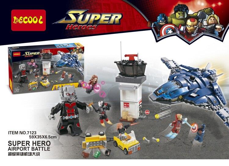 LEPIN 07034 774Pcs Avenger Superhero Airport Battle Building Blocks Antman Iron Man Model Bricks Toy Compatible Gift<br><br>Aliexpress