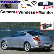 Liislee 3 in1 Special Rear View Camera + Wireless Receiver + Mirror Monitor Parking System For Hyundai Coupe S3 Tuscani Tiburon(China)