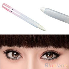 High Quality 2015 New Arrival 1 Pc Glitter Pearl White Light Cosmetic Makeup Eyelip Eyeliner Shadow Pencil Pen 7GYG AC6H