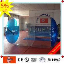factory directly 1.0mm pvc dia 2.6m length 2m inflatable water cylinder roller price for kids and adults for sale(China)