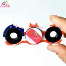 Buy sermoido Spiner Fidget Spinner, Finger ABS Hand Spinner Tri Kids Autism Anxiety Stress Relief Toys Gift for $1.15 in AliExpress store