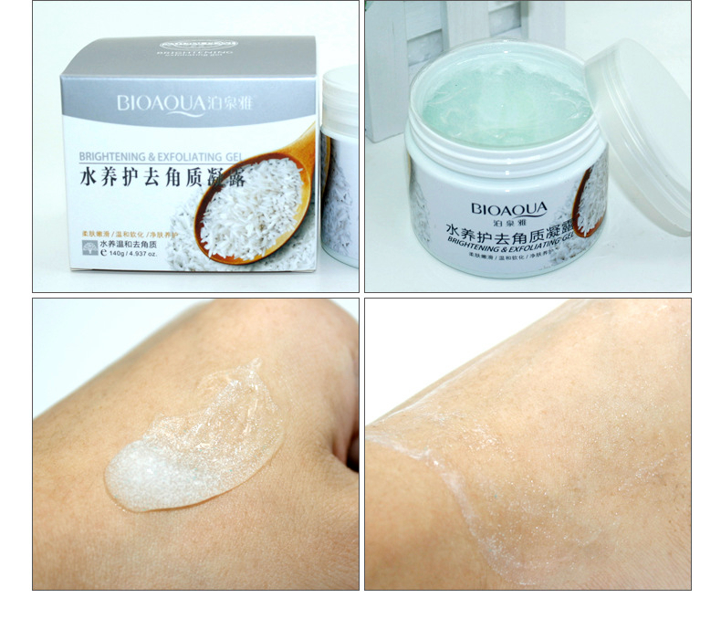 sdfsdf BIOAQUA Brand Skin Care 140g Facial Exfoliating Moisturizing Cream Shrink Pore Brightening Skin Oil-control Hydrating Cream12