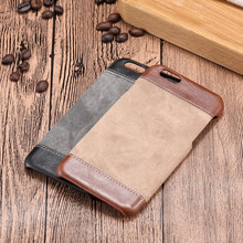 6 6S 4.7 5.5 Luxury Jeans Pattern Back Cover For iPhone 6 6S / 6 6S Plus High Quality Phone Cases Accessories for Apple iPhone(China)