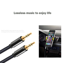 3.5mm Male to Male Audio Cable Jack 3 5 Aux Cable For iPhone Samsung Car MP3 / 4 Headphone Mobile Phone Speaker Aux Cord Wire(China)