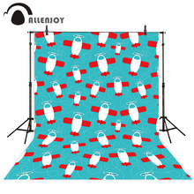 Allenjoy photo background Small airplanes repeat patterns cool background for children backdrop for photo studio baby(China)