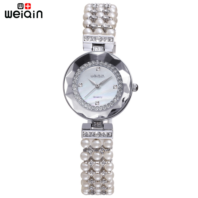 WEIQIN Business Original Crystal Diamond Ladies Watches Outdoor Women Bracelet Band Wristwatch Beautiful Travel Bayan Kol Saati<br><br>Aliexpress