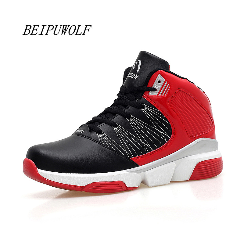 Plus Size 45 46 47 Mens Basketball Shoes Autumn 2017 New Arrivals High Top Athletic Outdoor Training Sneakers Sports Shoes<br><br>Aliexpress