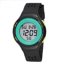 GSWP Jelly Candy Watch Clock Waterproof Outdoor Digital Sports Watch Women Men Simple Small Bracelet Hand Wrist Hour gift