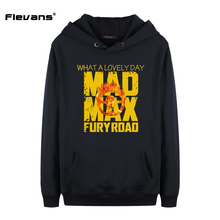 Flevans Mad Max Fury Road Men's Hoodies & Sweatshirts Hooded Outerwear Male Hip Hop Streetwear Long Hoodies Clothing