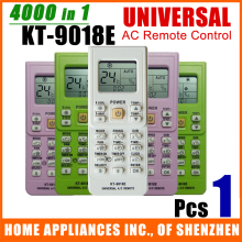 (1 Pc/Lot) Universal Air Conditioner Remote Control KT-9018E White Color