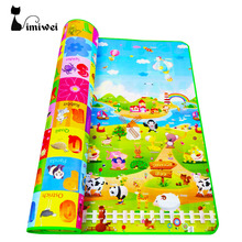 IMIWEI Baby Play Mats Mat For Kids Toys Baby Toys puzzle Mat Mat For Children Developing Rug Kids Rugs Children Carpet Eva Foam(China)