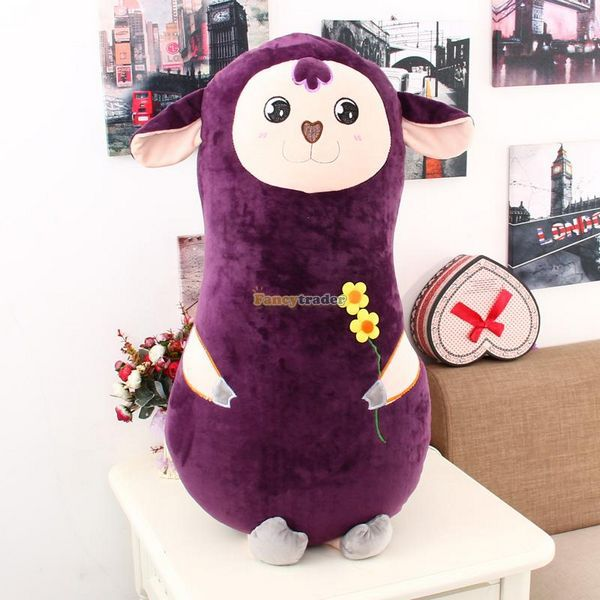 Fancytrader 33 / 85cm Plush Stuffed Giant Lovely Alpaca Pillow Toy, 3 Colors Available! Nice Gift, Free Shipping FT50368<br><br>Aliexpress