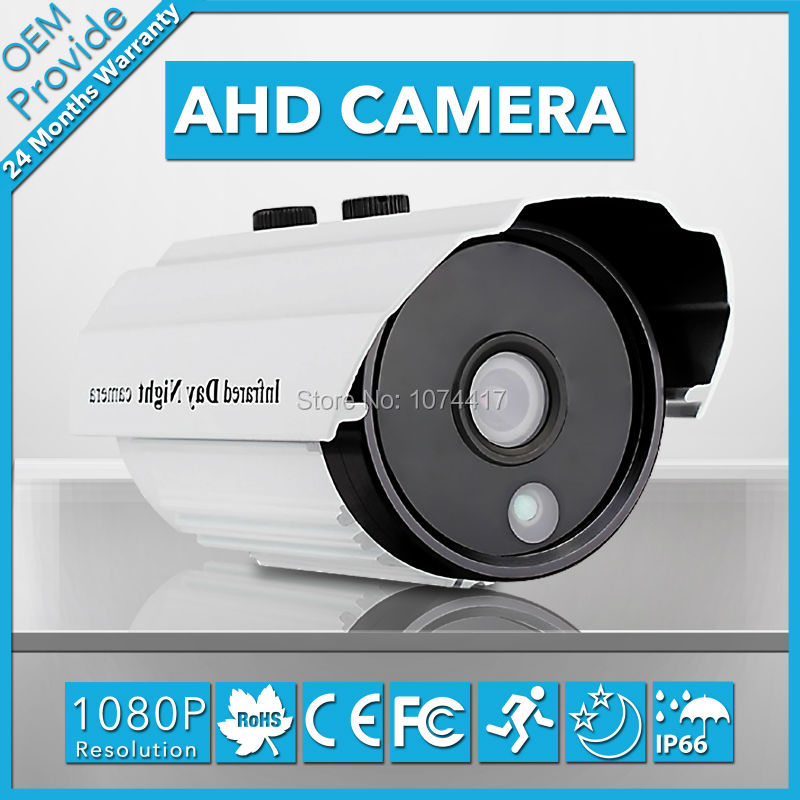 AHD3200LT-T 1080P IP66 Bullet Outdoor/Indoor AHD Camera 2.0MP IP66 Security Camera 1080P Lens With Good Vision Without Bracket<br>