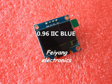 "1pcs 0.96""blue 0.96 inch OLED module  New 128X64 OLED LCD LED Display Module For Arduino 0.96""  IIC  I2C Communicate"