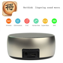 Hot ones metal chess Wireless bluetooth speaker MINI portable Stereo Super Bass Hands-free calls Speaker support TF card MP3
