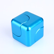 Buy Top Fidget Spinner Fidget Cube Hand Finger Figet Spinner Metal EDC Aluminum Alloy Plating Relieve Stress hand spinners Toy SL389 for $8.61 in AliExpress store