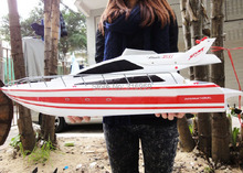 Large RC SpeedBoat Atlantic Yacht Luxury Cruises racing boat high speed ship Electronic Toys