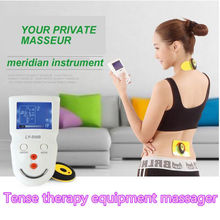 Handheld Massage Tools Electro Tens Therapy Massager Devices Wireless Arthritis Physiotherapy Equipment With 4 Electrode Pads(China)