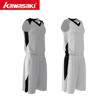Kawasaki Youth Adult Basketball Jerseys Sets Custom Reversible Basketball Uniforms kits Sports Breathable Basketball Shirts(China)