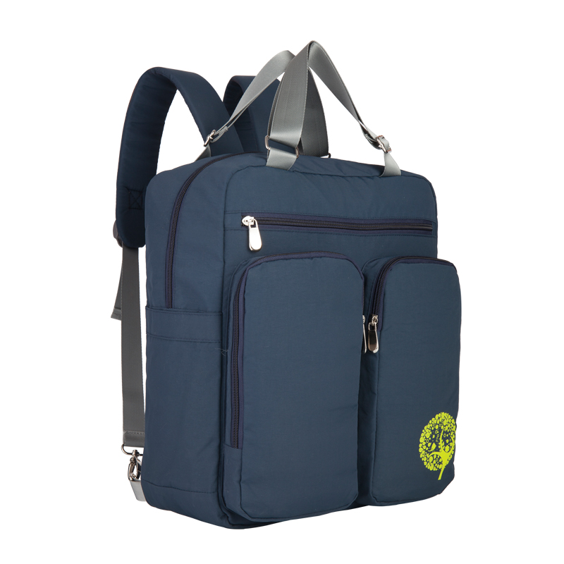 Insular New Arrival Cotton Multifunctional Waterproof Baby Diaper Bag Backpack Mommy Bag Fashion Nappy Backpack Women Daypack<br>