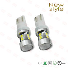 2pcs latest model High power LED Fog lamp T10/H1/H3 10 LEDSMD3030 Quality chips Working voltage 14V(China)