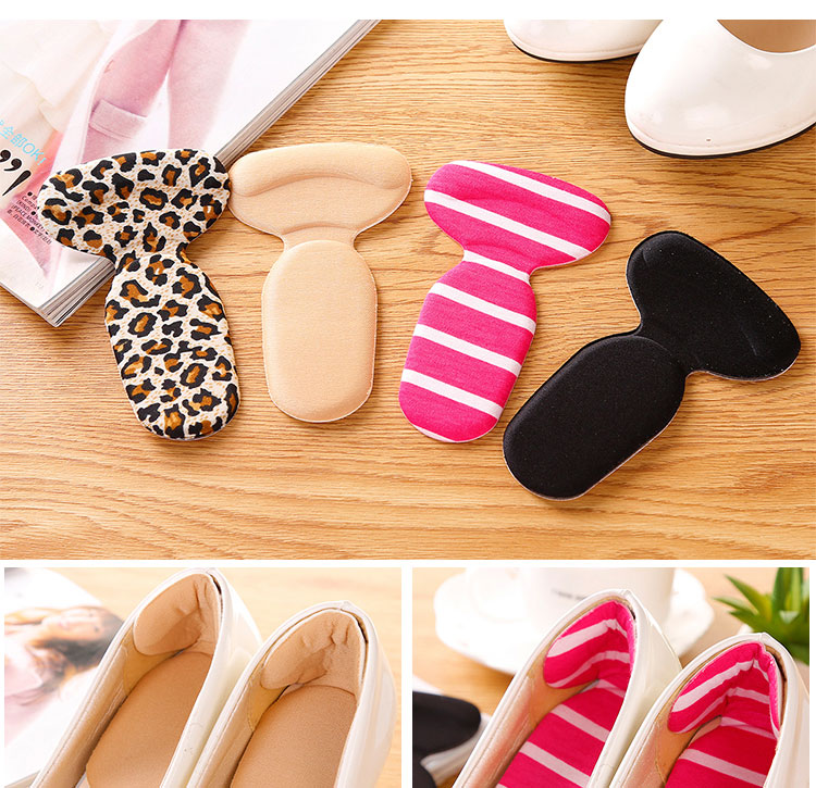 Soft Thickened Foam Half Soles Insoles Shoes Back Inserts Heel Liner Cushion Protector Foot Care Shoe Pads Grips Stickers (5)