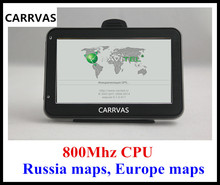HOT in Russia! 4.3'' car GPS auto GPS navigator 800Mhz CPU, DDR 128 MB, built-in 4GB, 2016 Europe maps or Russia Navitel 9.1 map(China)