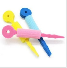 T069 Sponge Hair Clips Roller DIY Wholesele New Fashion 3pcs/lot Cheap!DIY Hair Tool Combs!(China)