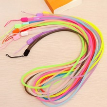 10pcs Luminous Lanyard For Mobile Cell Phone Key USB Cords Strap Random Color Mobile Phone Straps