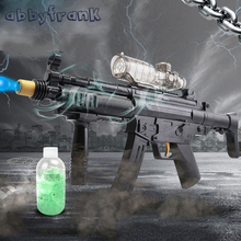 Abbyfrank MP5 Electric Sniper toy Guns Water Guns Soft Water Bullet The Cultivation Of Interest Outdoors Toys For Children