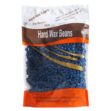 New Arrival 1 bag Chamomile Flavor No Strip Depilatory Hot Film Hard Wax Pellet Waxing Bikini Hair Removal Bean D26