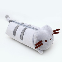 Buy 1pcs Kawaii Stuffed Pusheen Cat Plush Toy 20cm Pusheen Cat Cute Pencil Case Pen Bag School Supplies Animal Doll Children for $3.12 in AliExpress store
