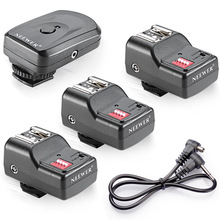 Neewer 16 Channel Wireless Flash Trigger Set for Flash Units with Universal Hot Shoe for Canon/Nikon/Pentax/Sigma/Vivitar