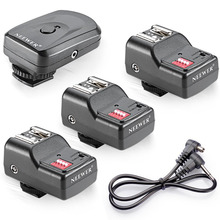 Neewer 16 Channel Wireless Flash Trigger Set for Flash Units with Universal Hot Shoe for Canon/Nikon/Pentax/Sigma/Vivitar(China)