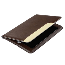New arrive Fashion Design leather Flip Cover For iPad 5 Case Refinement Slim fashion Wallet Pocket For iPad 6 Case(China)