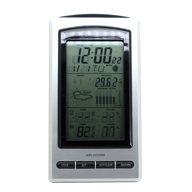 Professional Multifunction Convenient LCD Clock Reminder Hygrometers Thermometer<br><br>Aliexpress