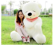 1pcs 80CM teddy-bear HUGE BIG STUFFED ANIMAL TEDDY BEAR COVER PLUSH SOFT TOY PILLOW COVER(WITHOUT STUFF) Free delivery