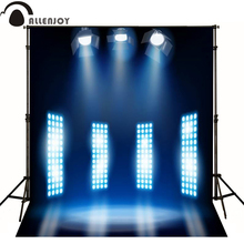 Allenjoy photographic background Stage spotlight flashing fashion photo backdrops for sale Computer printing high quality(China)