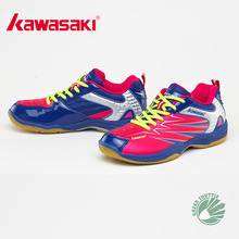 2016 New Professional Kawasaki Rubber Badminton Shoes For Men And Women Sports Shoes Breathable K-052 053 054(China)