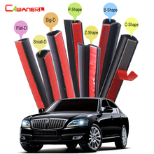 Cawanerl Car Door Hood Trunk Rubber Sealing Strip Kit Sound Insulation Seal Edge Trim Weatherstrip For SSANG YONG Chairman(China)