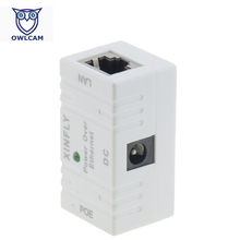 PoE Adapter POE001 RJ45 Connector POE Injector Power over Ethernet Adapter For POE IP Camera PoE Adapter(China)