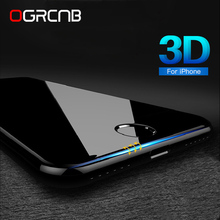 Buy 3D Round Curved Edge Tempered Glass iPhone 7 6 6S Plus Full Cover 9H 0.26mm Premium Screen Protector Film iPhone 7 glass for $1.36 in AliExpress store