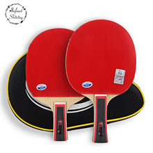 Competition for seven star table tennis racket racket double reverse penhold grip products