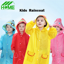 Children Animal Waterproof Poncho Raincoat Funny Cartoon Rain Coat Kid Wear Suit Rainwear Rainsuit Raincoats for Boy Girl Kids