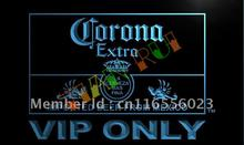 LA417- Corona Extra VIP Only Beer LED Neon Light Sign