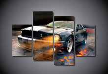 HD Printed Ford Mustang Shelby Painting on Canvas Room Decoration Print Poster Picture Canvas Framed Free Shipping