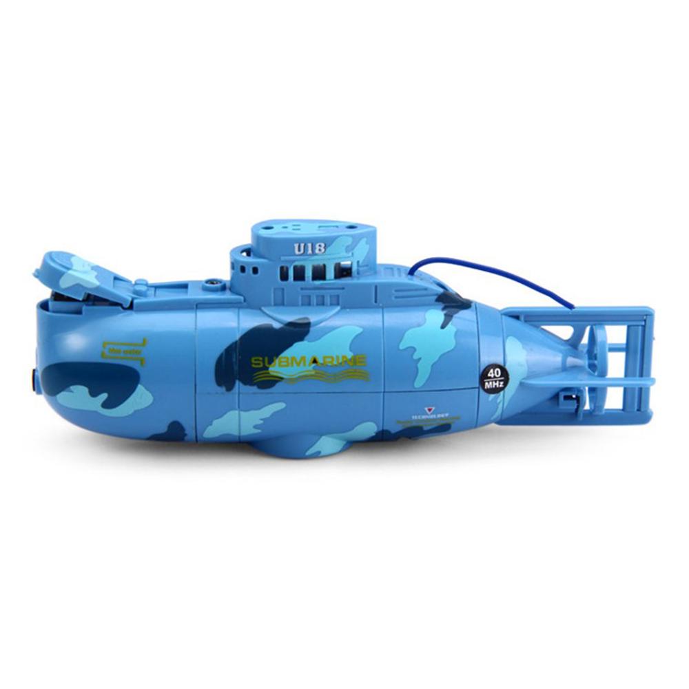 RC Submarine 6 Channels High Speed Radio Remote Control Electric Mini Radio Control Submarine Children Toy Boys Model Toys Gifts 2