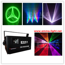 3W RGB full color laser Animation programable idla Laser Power